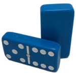 Blue Double 6 Dominoes