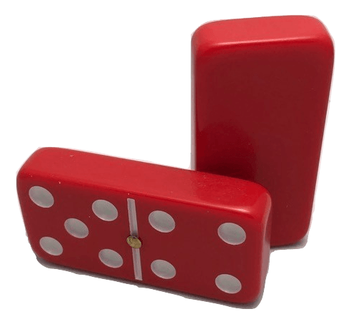 Red Double 6 Dominoes