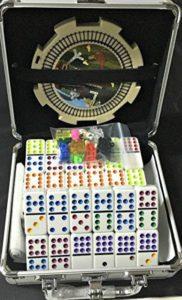 Double 12 Professional Dominoes in Aluminum case