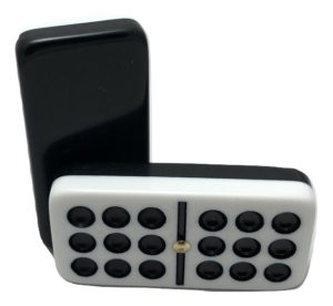 Double 9 Two-Tone Dominoes