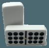 Double 9 White Dominoes