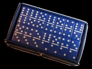 Mini Blue Dominoes