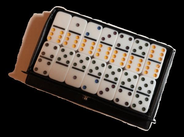 Mini White Dominoes