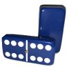 Dark Blue Double 6 Dominoes