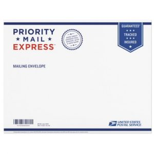 Ship in Padded Express Envelope