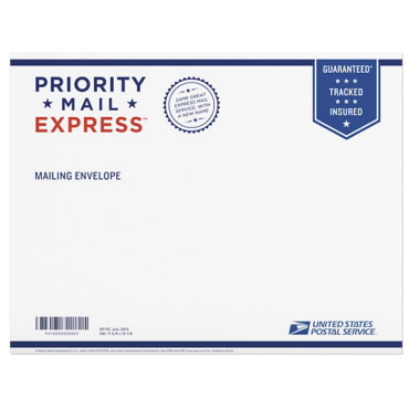 Express Mail Envelope