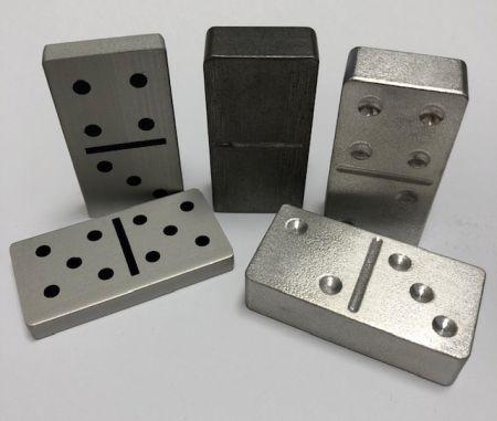 metal dominoes