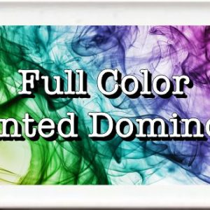 Protected: Double 6 White Dominoes with Full Color Printing
