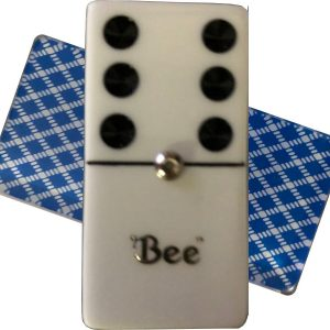Bee Double 6 Dominoes with Spinners