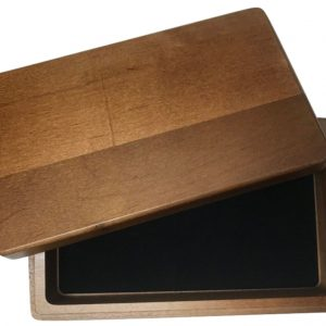 Double 6 Walnut Box